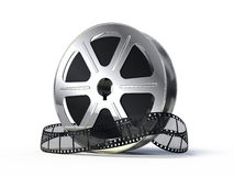 Movie films spool Stock Image