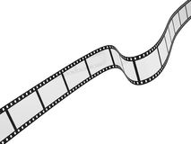 Movie filmstrip. 3d illustration isolated on white background Stock Photo