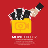 Movie Folder. Stock Photos
