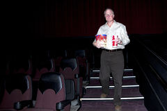 Movie Goer Stock Image