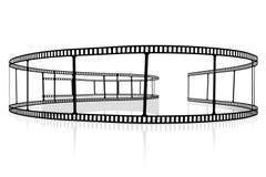 Movie/het concept van de cameraband royalty-vrije illustratie