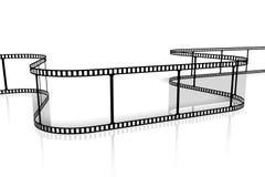 Movie/het concept van de cameraband stock illustratie