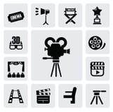 Movie icon Royalty Free Stock Image