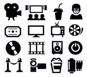 Movie icon Royalty Free Stock Photography