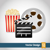 Movie icon design Stock Photos