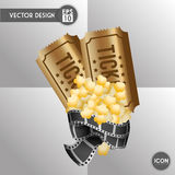 Movie icon design Royalty Free Stock Photography