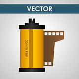 Movie icon design Royalty Free Stock Image