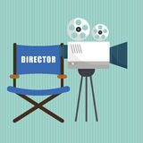 Movie icon design Stock Photo