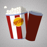 Movie icon design Royalty Free Stock Photos