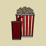 Movie icon design , vector illustration, vector illustration Royalty Free Stock Photography