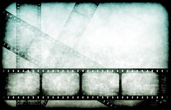 Movie Industry Highlight Reels Royalty Free Stock Photos