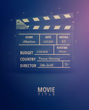 Movie Information Royalty Free Stock Images