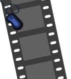 Movie Internet stock illustration