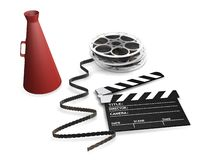 Movie items Stock Photo