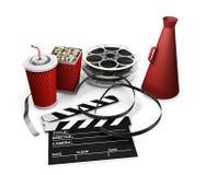 Movie items Stock Image