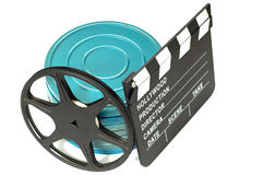 Movie Items Royalty Free Stock Photos