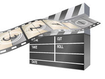 Movie items Stock Photography