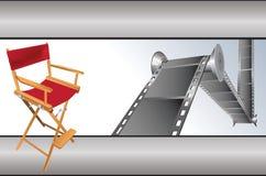 Movie items Royalty Free Stock Photos