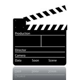 Movie Klappe Royalty Free Stock Images