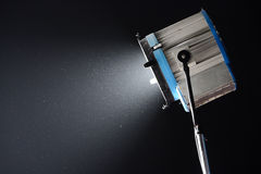Movie light. Isolated on a black background Stock Photo