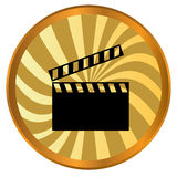Movie logo Stock Photo