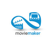 Movie maker Icon Stock Photography
