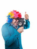 Movie maker stock images