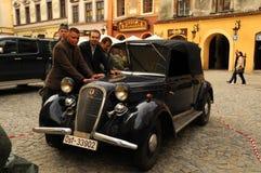 Movie making (Kamienie na Szaniec) in Lublin Royalty Free Stock Photo