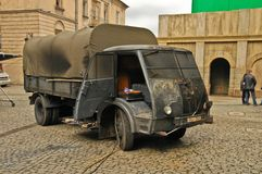 Movie making (Kamienie na Szaniec) in Lublin Royalty Free Stock Image