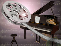 Movie Music Stock Photos
