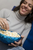 Movie night Royalty Free Stock Photo