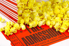 Movie Night Stock Photography