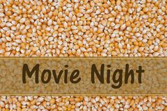 It is Movie Night Stock Images