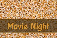 It is Movie Night Royalty Free Stock Image