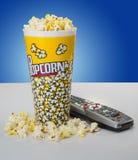 Movie Night Snack Stock Photo