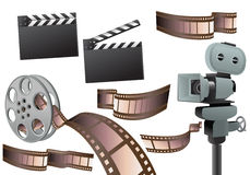 Movie object Royalty Free Stock Image