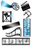 Movie_objects Royalty Free Stock Photos