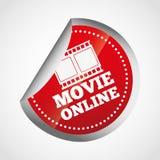 movie online design Stock Photo