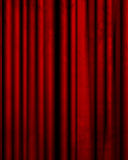 Movie Or Theater Curtain Stock Photo