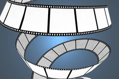 Movie/photo film royalty free stock images