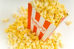 Movie Popcorn Royalty Free Stock Photos