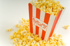 Movie Popcorn stock images
