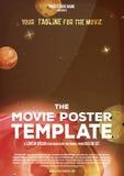Movie Poster Template Stock Photos
