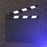 Movie production clapper Royalty Free Stock Photos