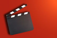 Movie production clapper Stock Photos