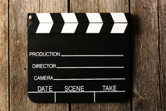 Movie production clapper board Royalty Free Stock Photography