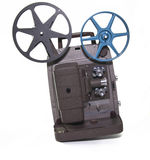 Movie projector Stock Images