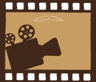 Movie projector Royalty Free Stock Images