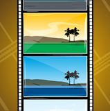 Movie reel Royalty Free Stock Photography