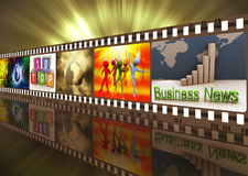 Movie reel Stock Photography